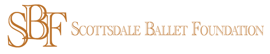 SBF-Logo, scottsdale ballet foundation