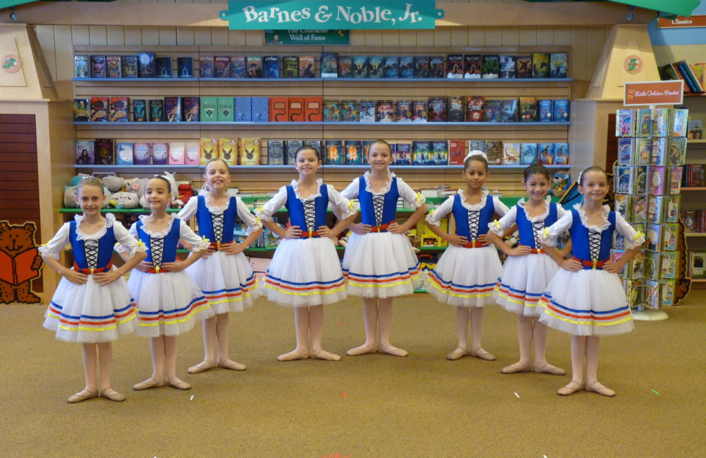Scottsdale School of Ballet Performance at the Barnes and Noble