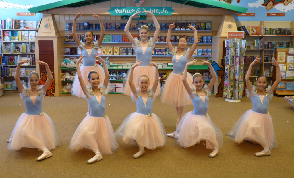 Scottsdale School of Ballet Performance at Barnes and Noble